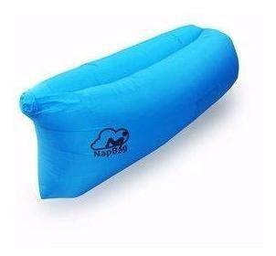 Sillón Sofa Tumbona Inflable Napbag Plane - Azul