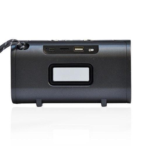 Parlante Bluetooth Portátil Lhotse T16 Gris Inalámbrico