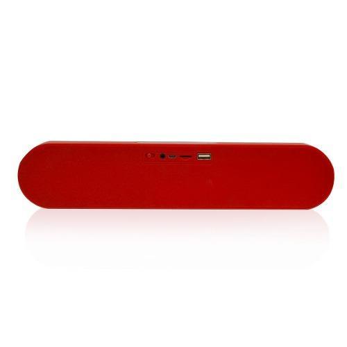Parlante Bluetooth Portátil Lhotse F1 Rojo 10W