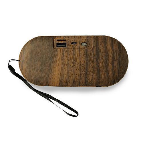 Parlante Bluetooth Portátil Lhotse F3 Madera