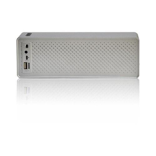 Parlante Bluetooth Portátil Lhotse F2 Gris Inalámbrico
