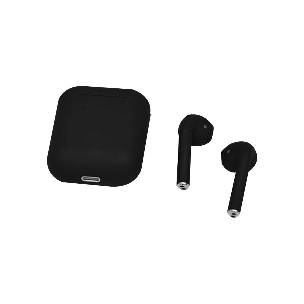 Audífonos Lhotse Bluetooth Inalámbrico Rm12 Negro