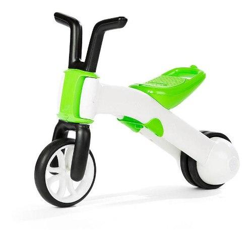 Bicicleta De Equilibrio Niños Chillafish Verde Bunzi Aprendi