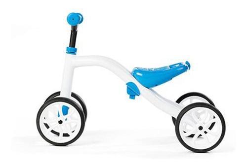Bicicleta De Equilibrio Niños Chillafish Cuatriciclo Azul
