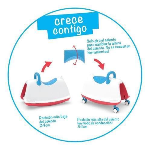 Correpasillos Trackie Azul Rojo Mix