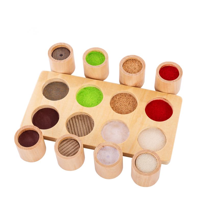 Encaje cilindros de madera textura