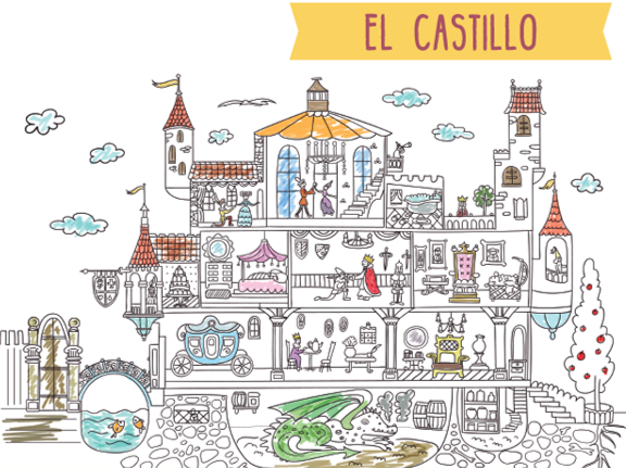 Poster XXL - Castillo Medieval
