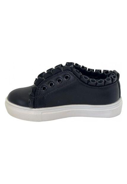 Zapatillas Con Vuelo Negras