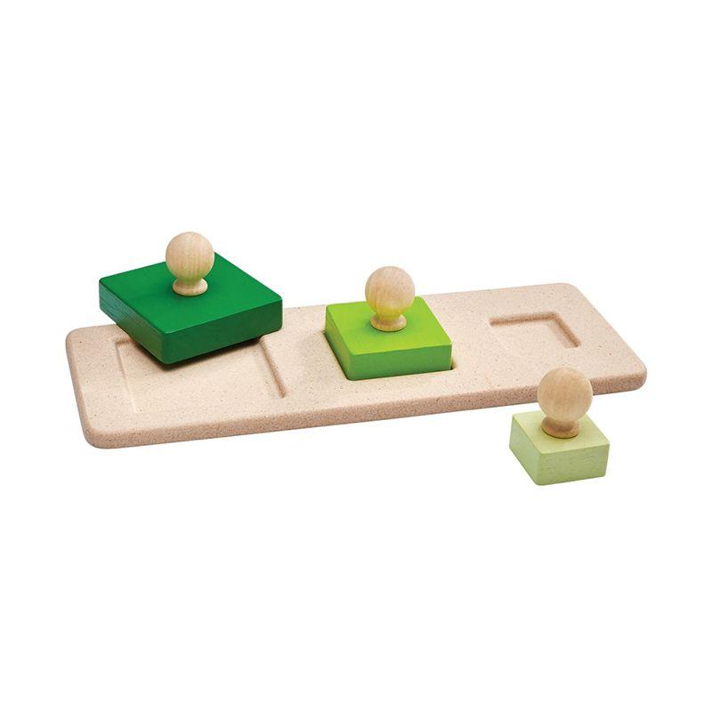 Encaje cuadrados con tarugo de madera
