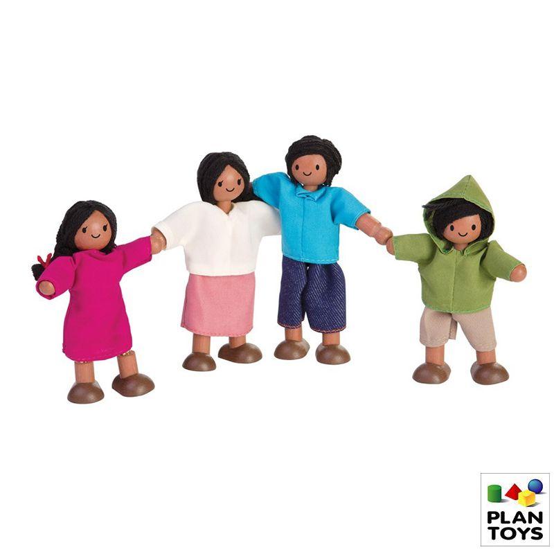 Set de muñecos Familia latina