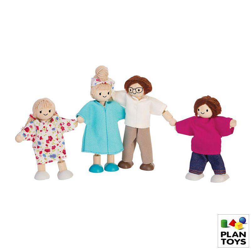 Set de muñecos Familia moderna