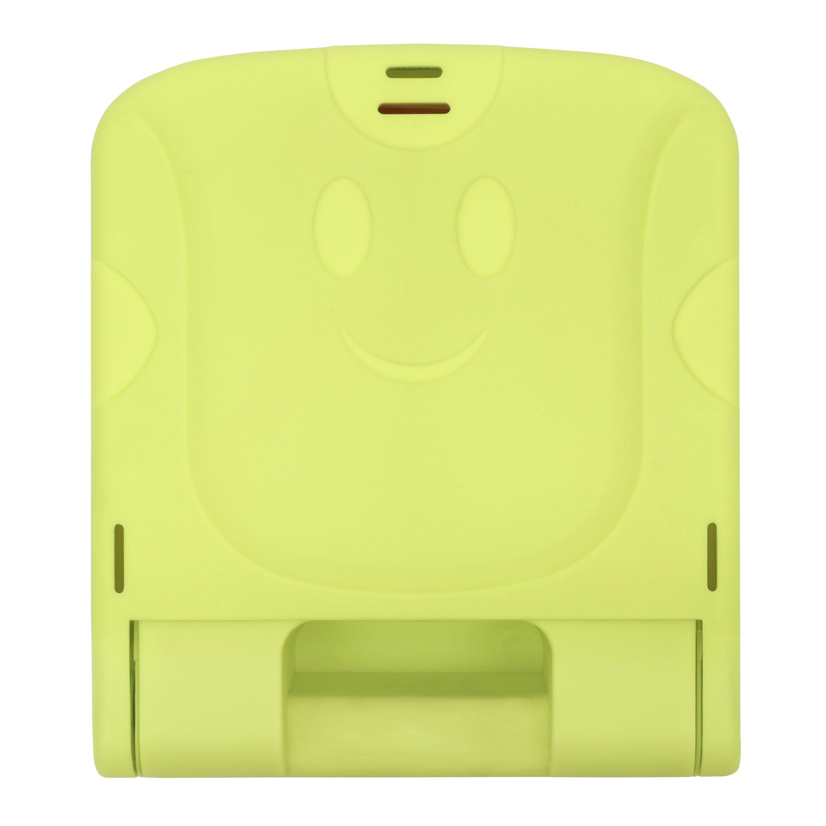 Silla de comer portatil verde