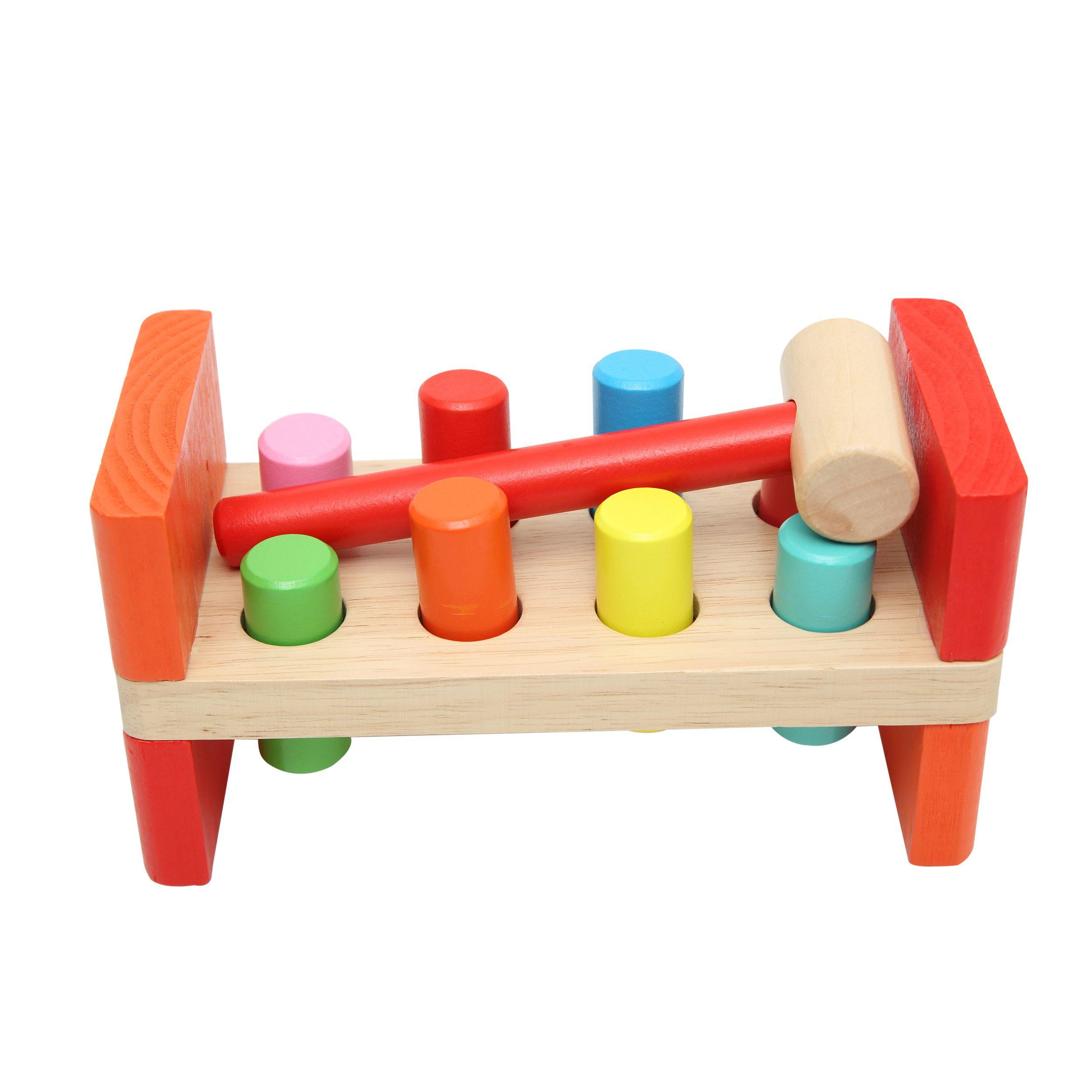 Juguete madera didactico figuras encaje