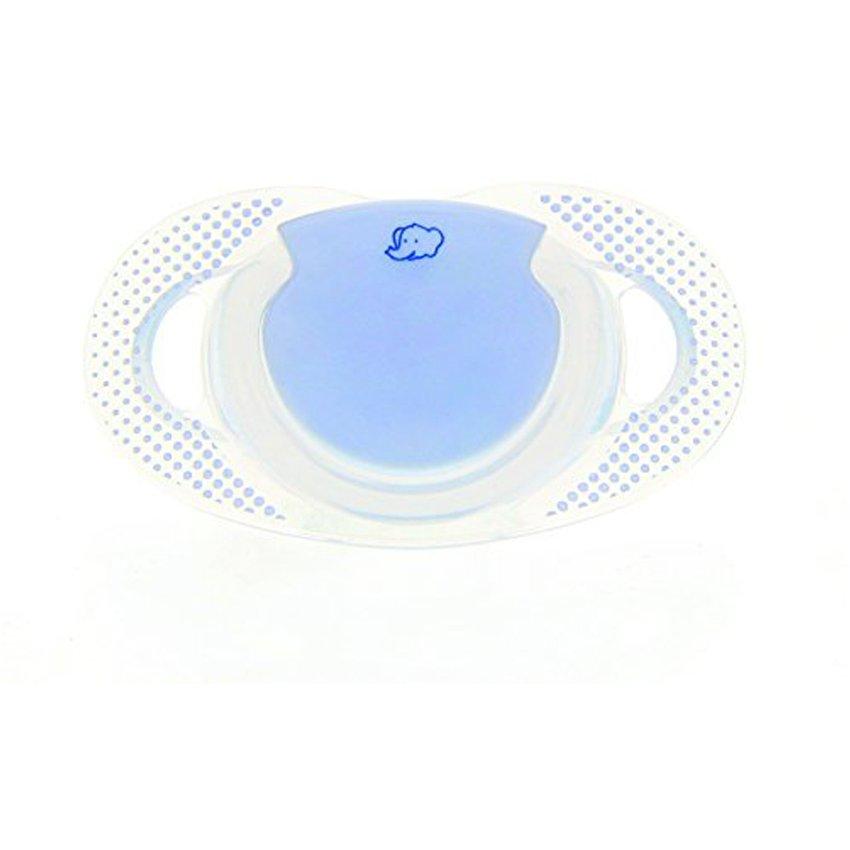 2 Chupetes Physio Silicona Dummy Azul 0-6 Meses Bebe Confort