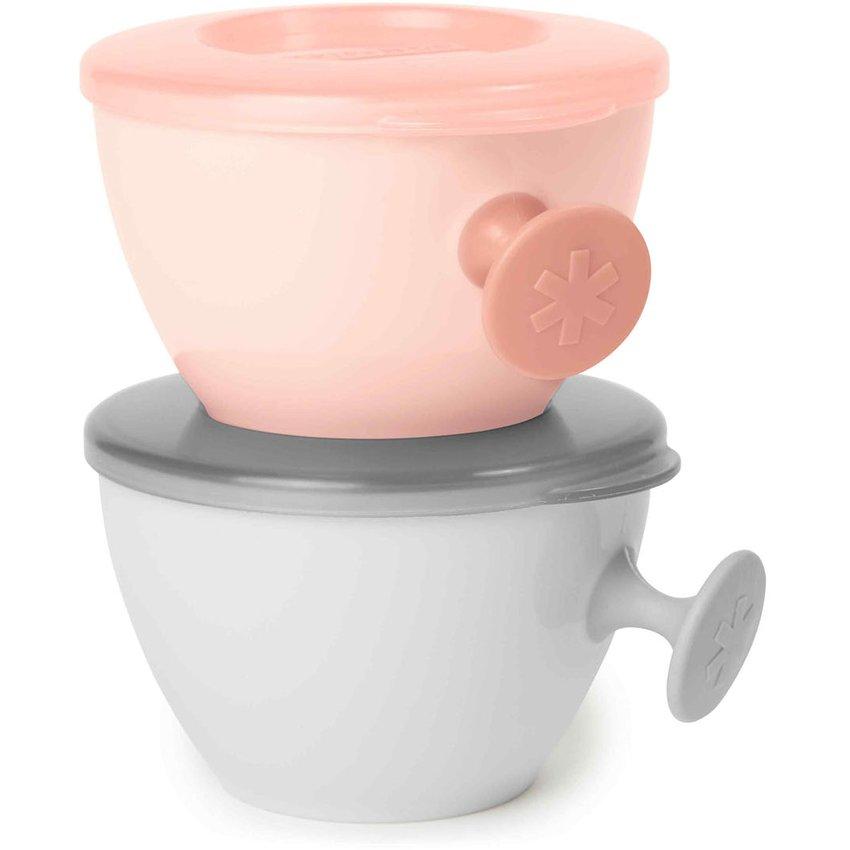 Bowls Easy-Grab Grey/Soft Coral Skip Hop