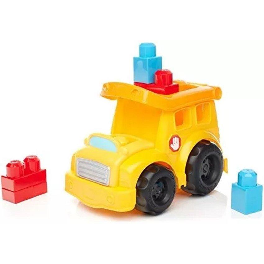 Fisher Price Mega Block Bloques Bus Escuela ( School Bus ) Lego
