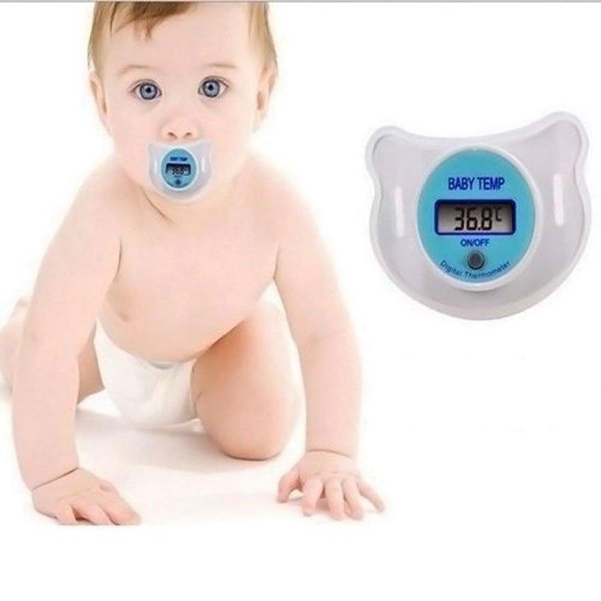 Chupete Digital con Termómetro para Bebés