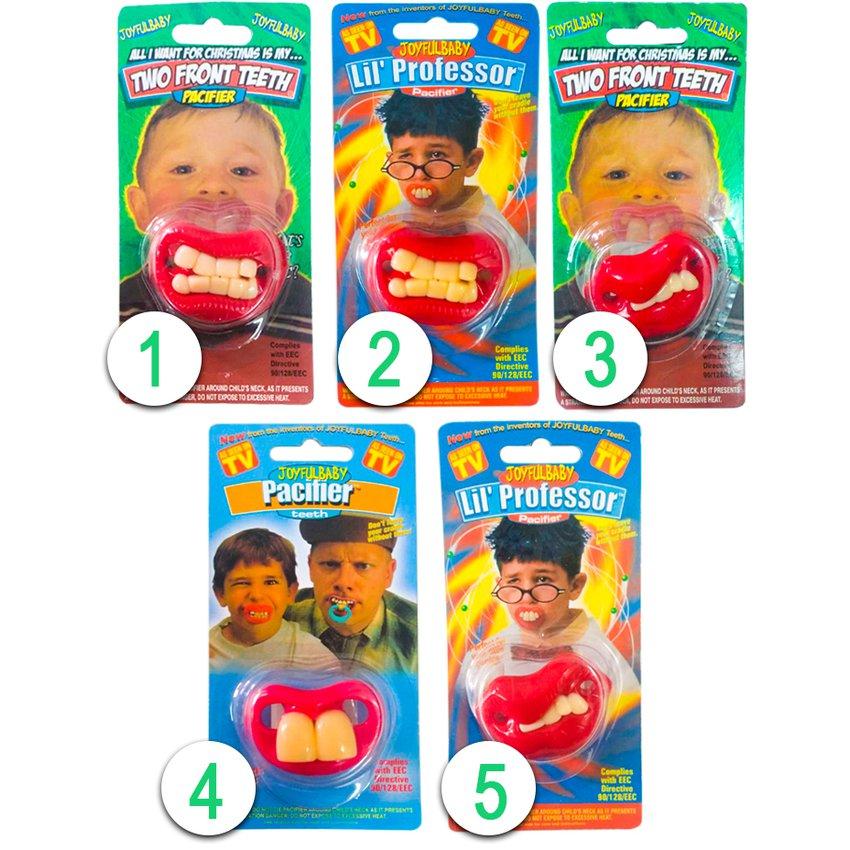 Chupetes Para Bebes Diseños De Dientes