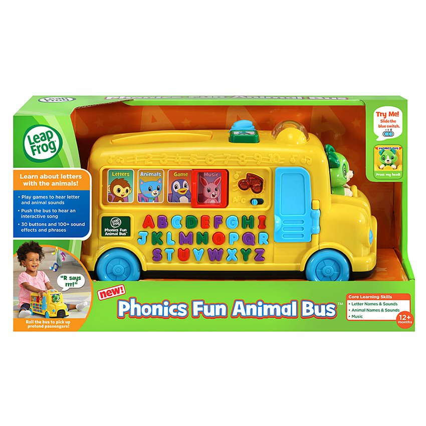 Autobús de Letras y Animales LeapFrog