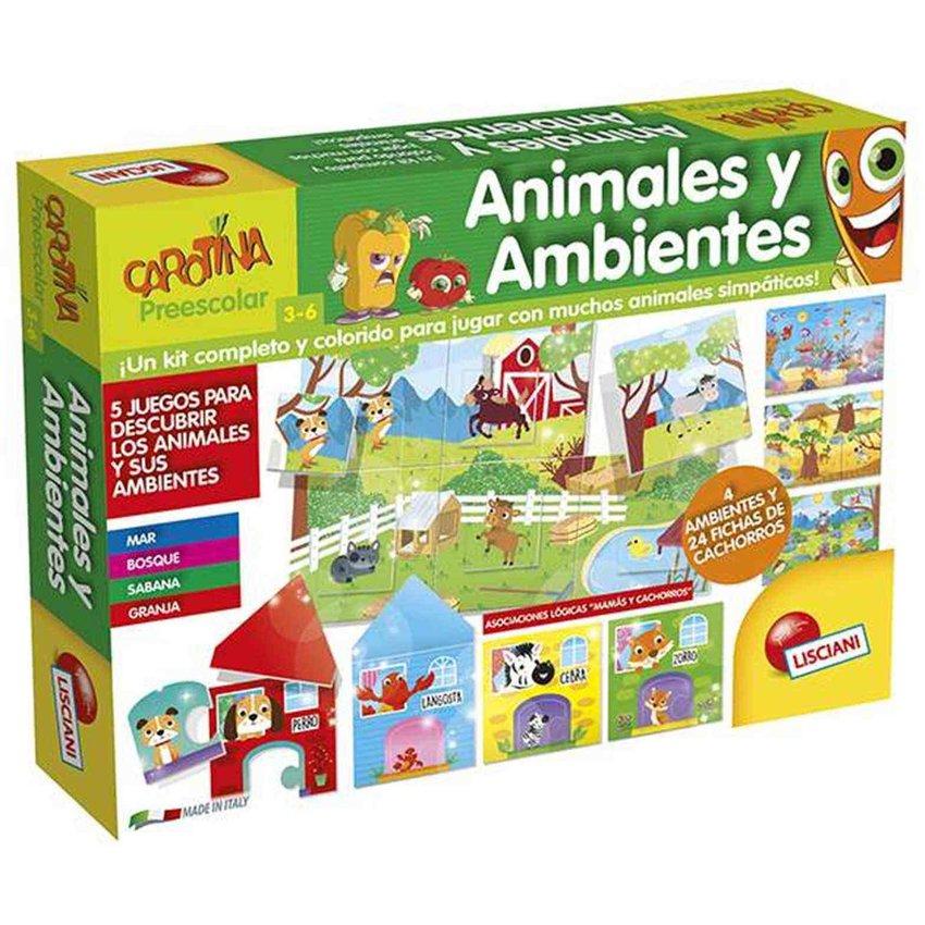 ANIMALES Y AMBIENTES -  LISCIANI
