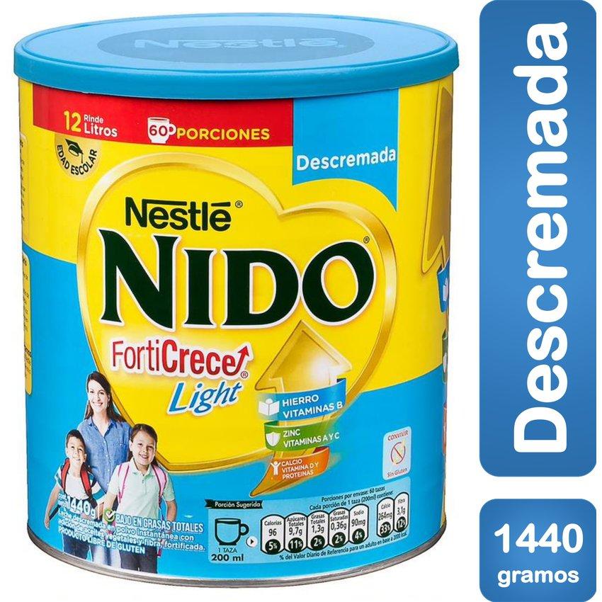 Leche Nido Forticrece Light 1.440g