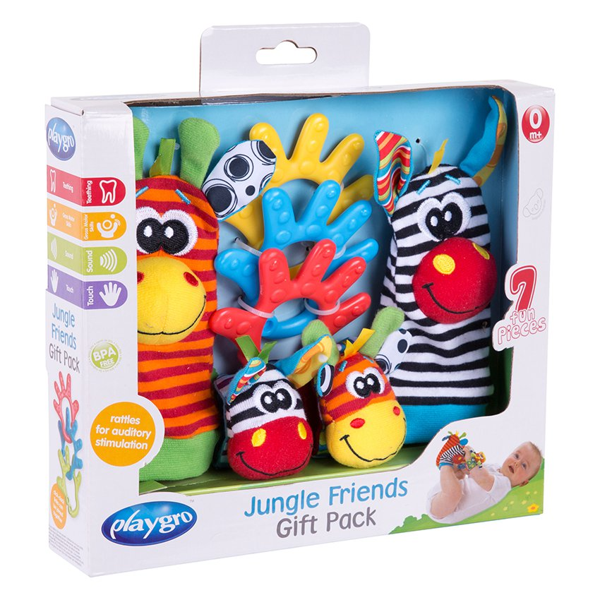 Jungle Friends Gift Pack Playgro