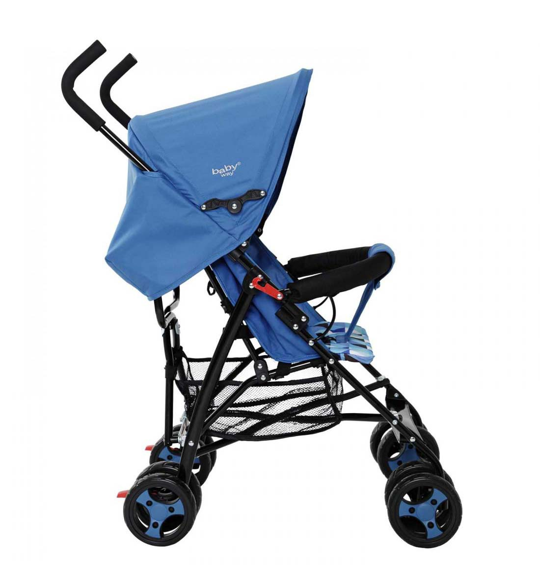 Coche Paragua Baby Way Azul Bw-102A17