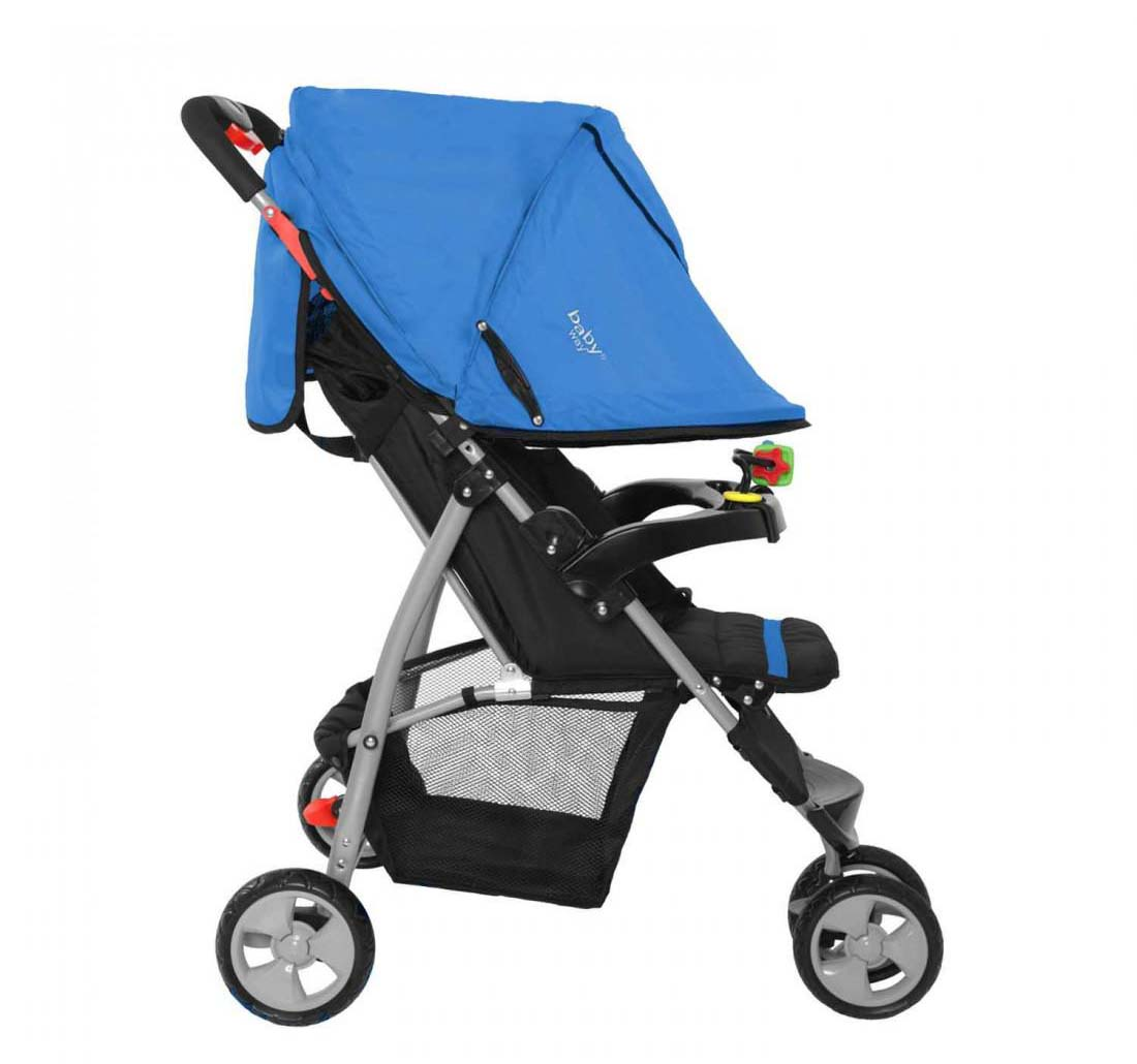 Coche Paseo Baby Way Azul Bw-206A17