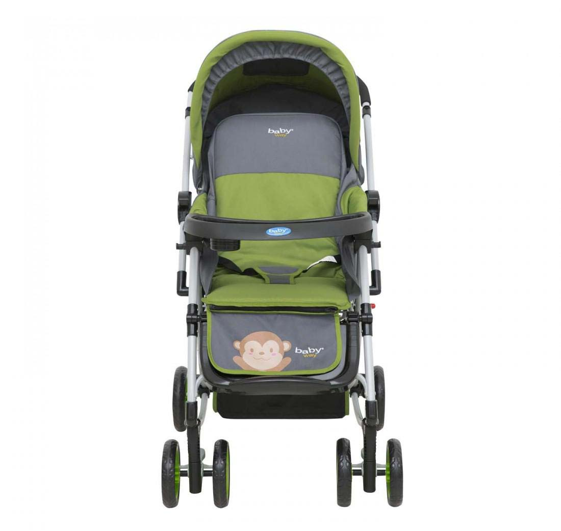 Coche Cuna Balancin Baby Way Verde