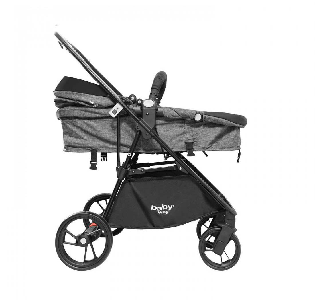 Coche Travel System Baby Way Gris