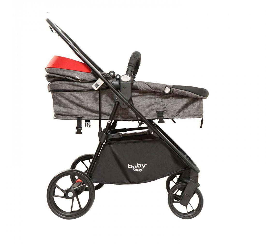Coche Travel System Baby Way Rojo