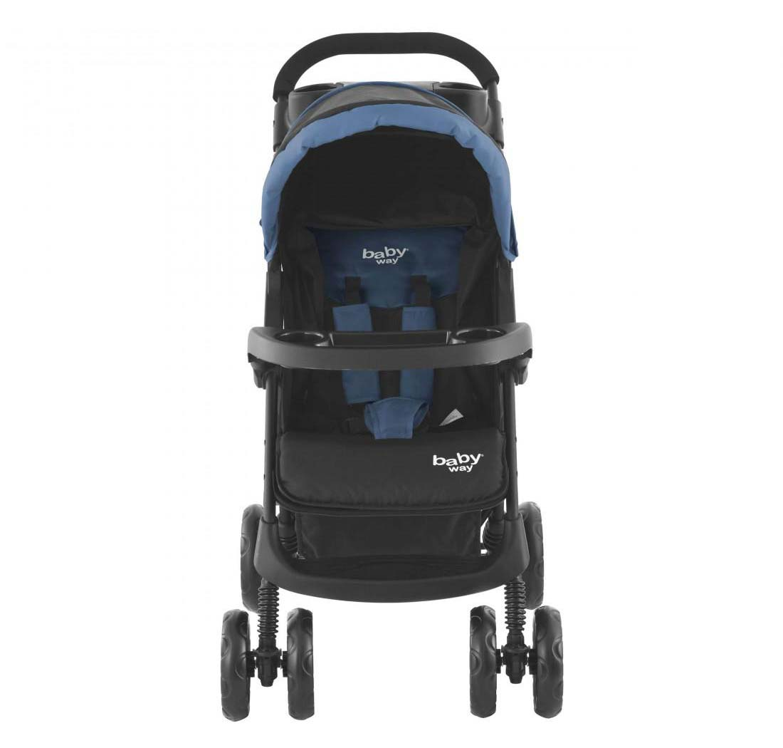 Coche Travel System Baby Way Azul Bw-413B18