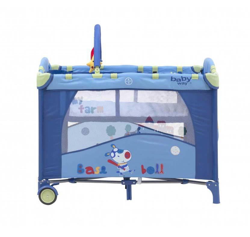 Cuna Pack & Play Baby Way Azul