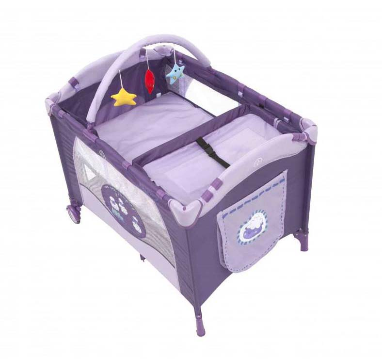 Cuna Pack & Play Baby Way Morado