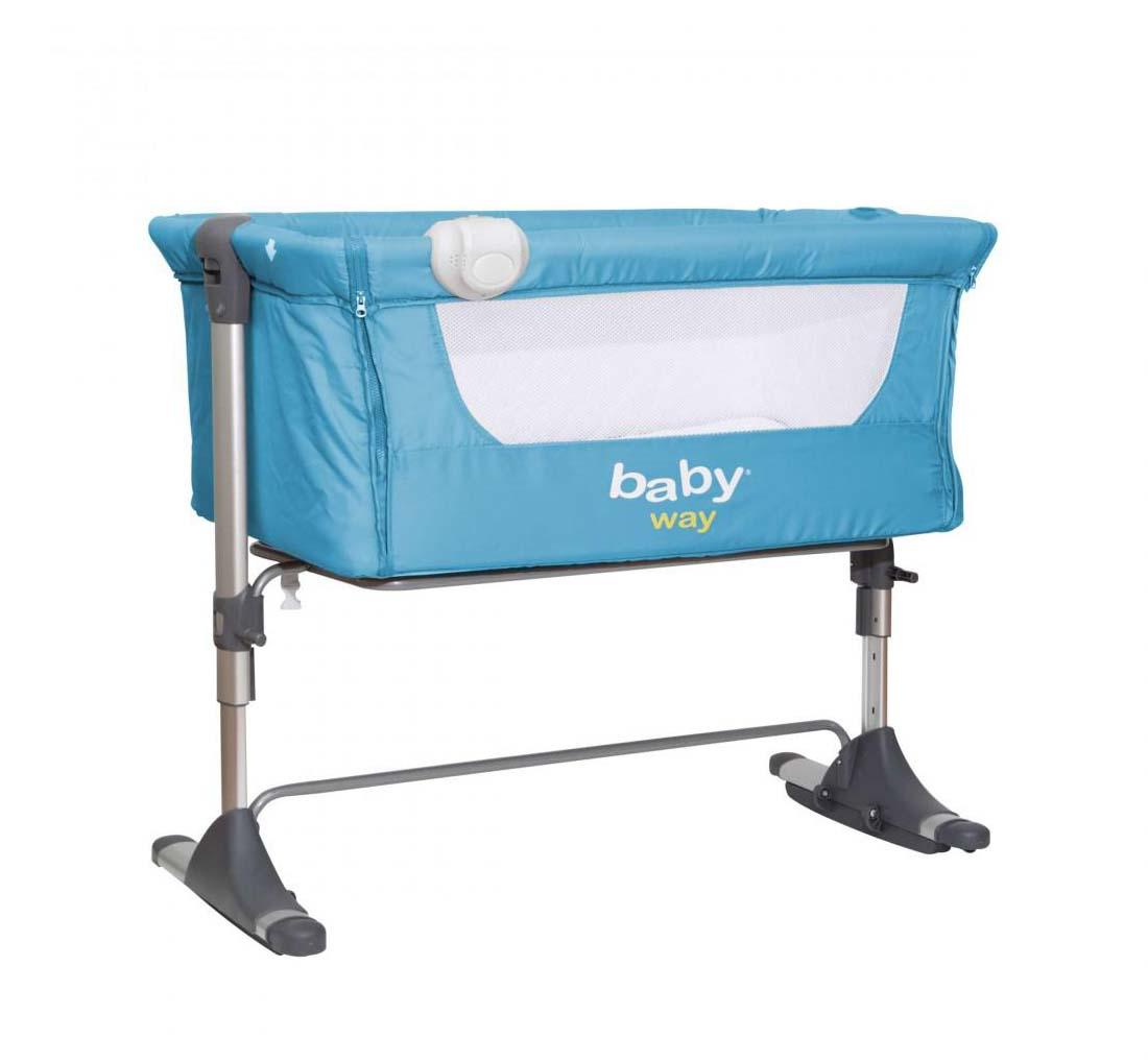 Cuna Colecho Baby Way Azul