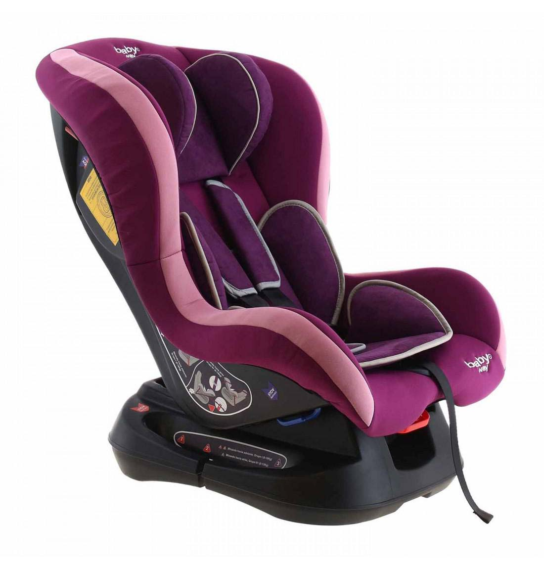 Butaca De Auto Baby Way Reclinable Morado Bw-737M19