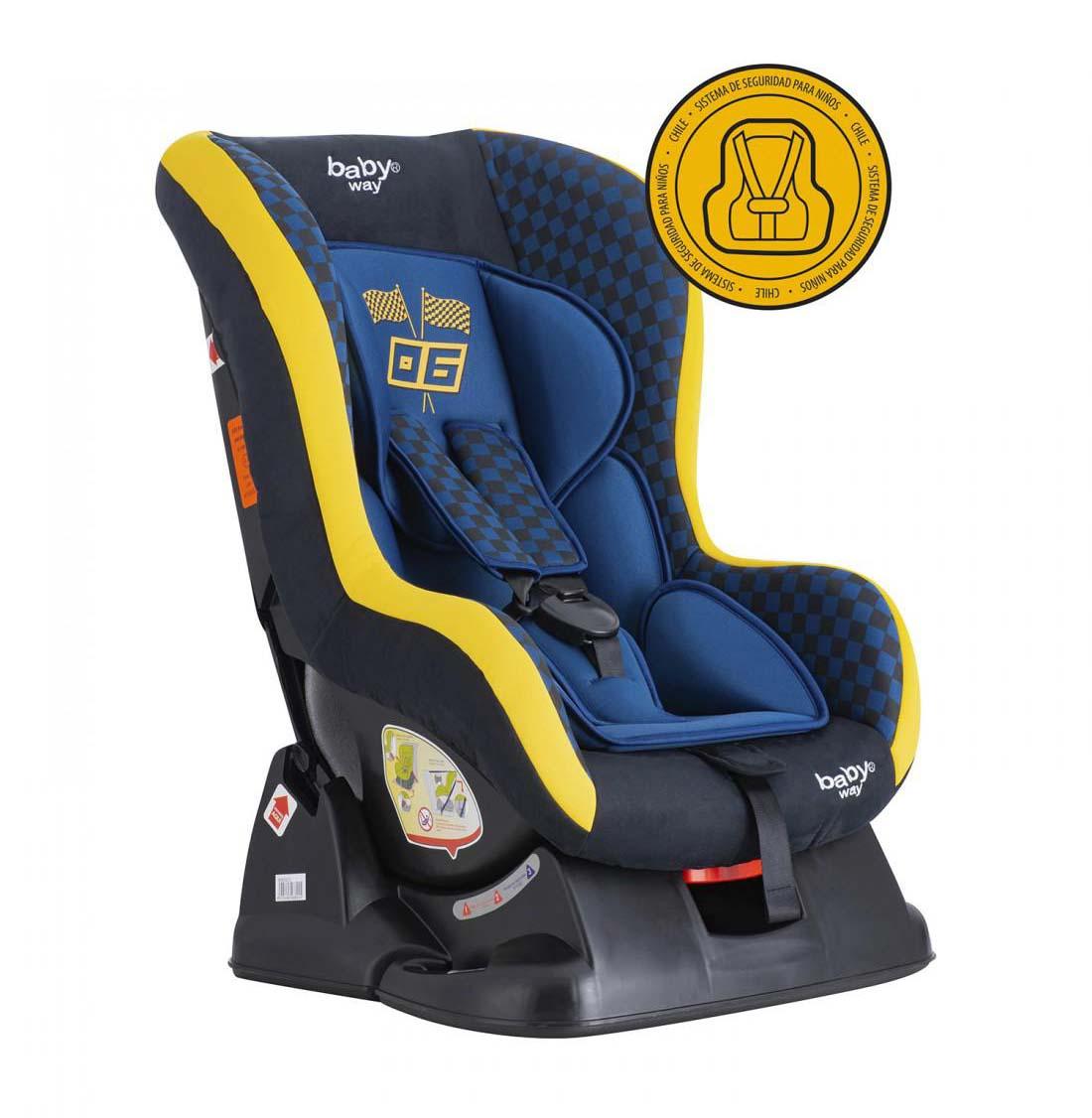 Silla De Auto Convertible Azul Bw-743B20