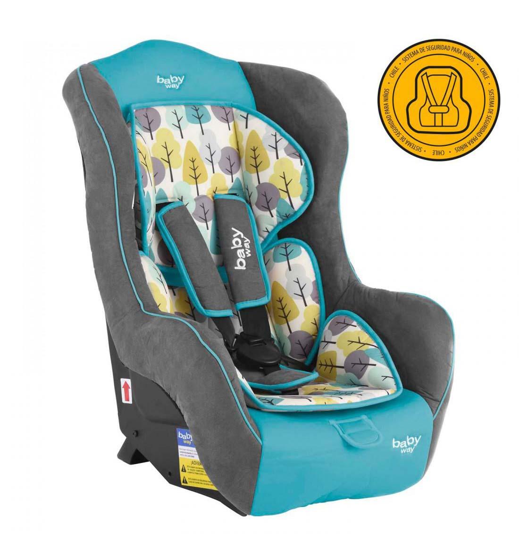 Butaca De Auto Baby Way Bw-744 Turquesa