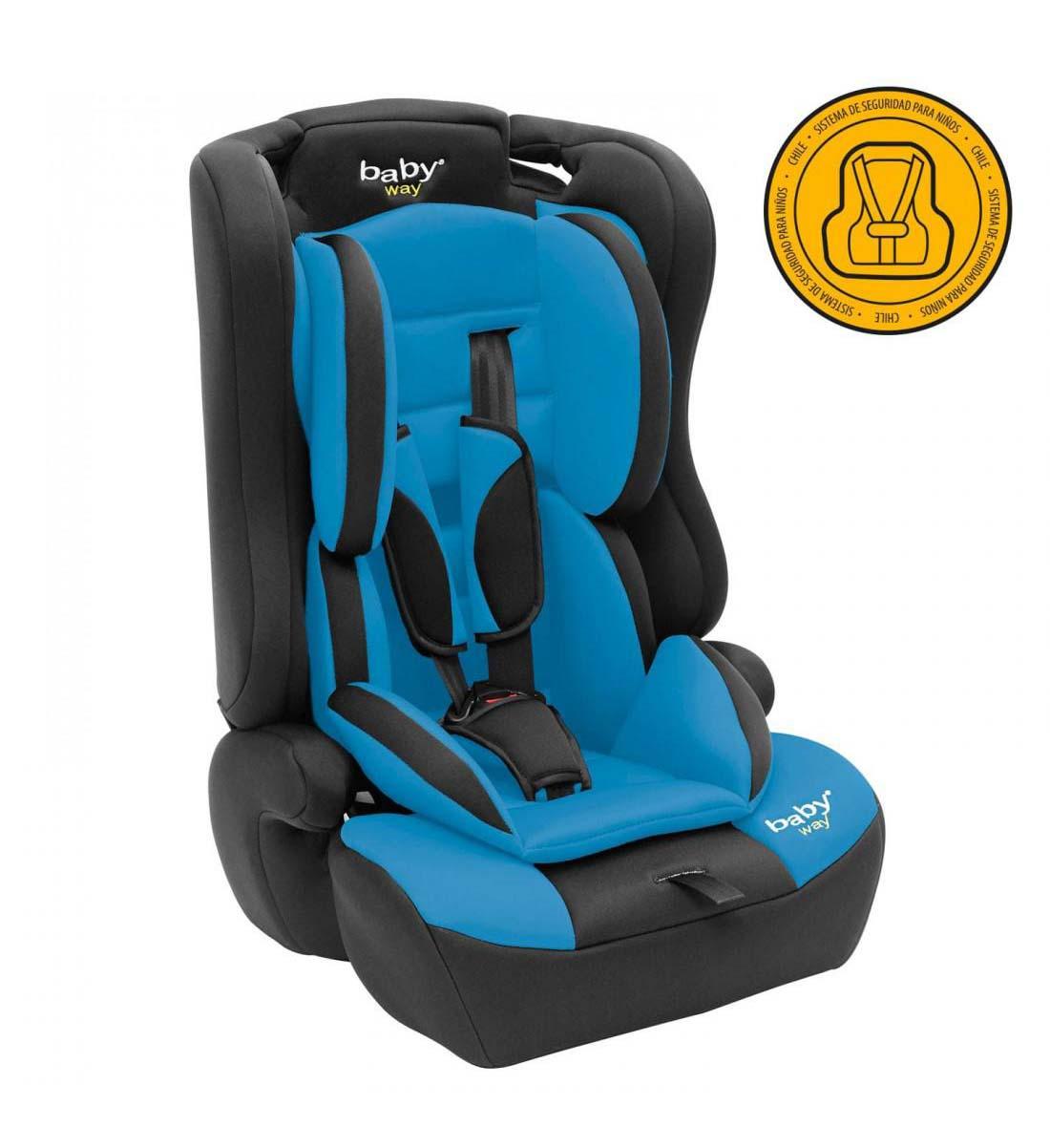 Silla De Auto Convertible Baby Way Azul Bw-746B18