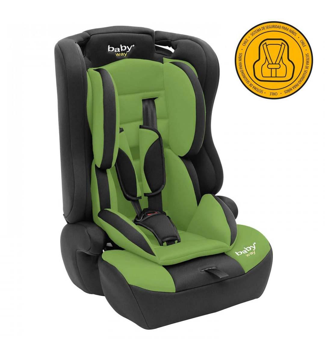 Silla De Auto Convertible Baby Way Verde Bw-746G18