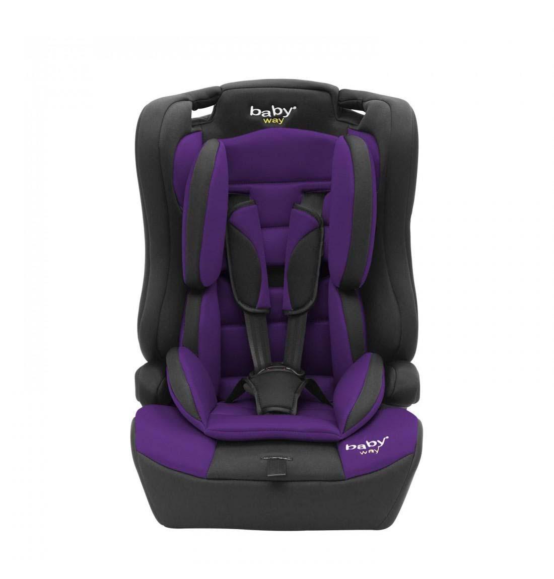 Silla De Auto Convertible Baby Way Morado Bw-746M18