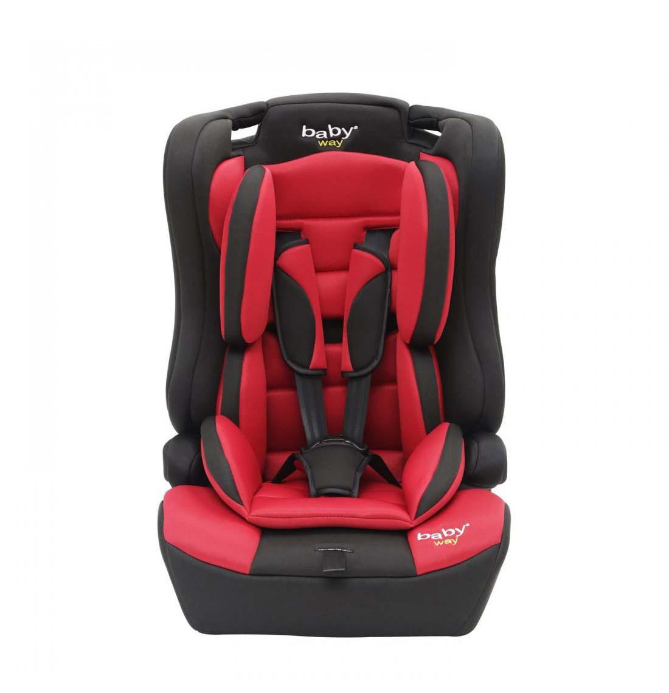 Silla De Auto Convertible Baby Way Rojo Bw-746R18