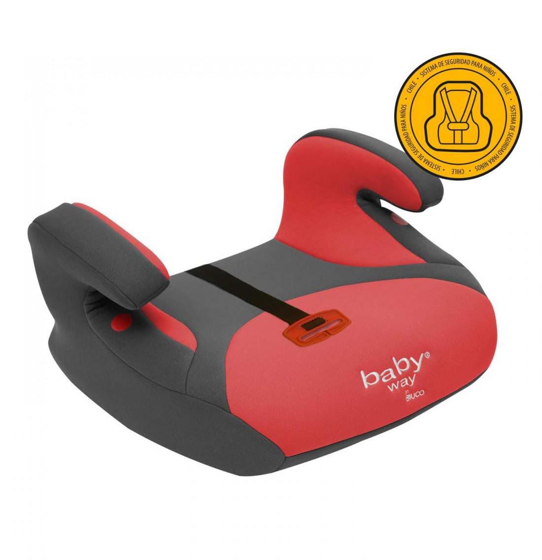 Alzador De Auto Baby Way Rojo Bw-747R18