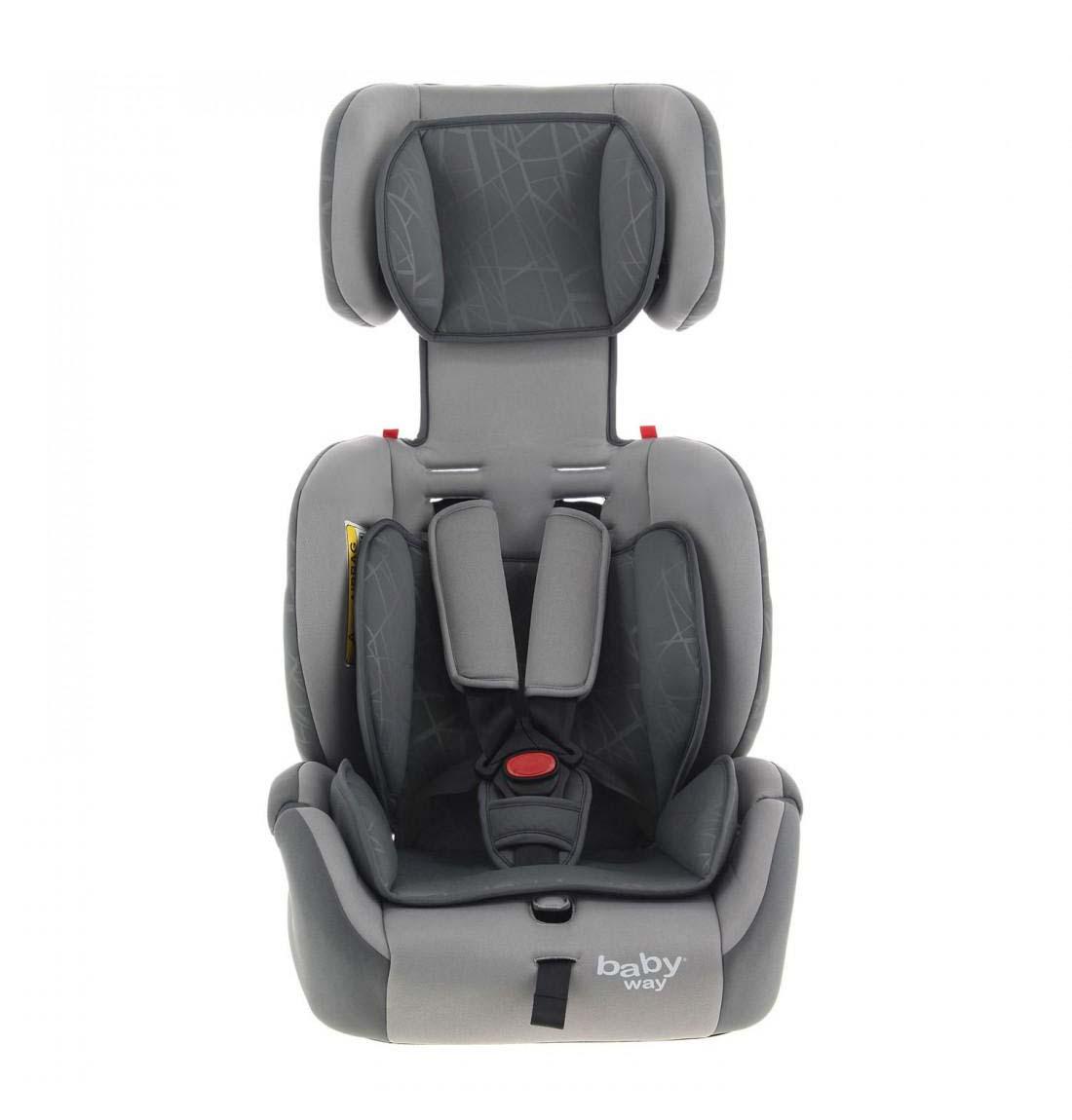 Silla De Auto Convertible Baby Way Bw-749 Gris