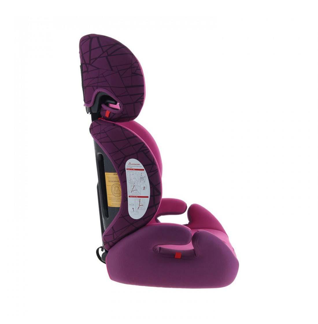 Silla De Auto Convertible Baby Way Bw-749 Morado
