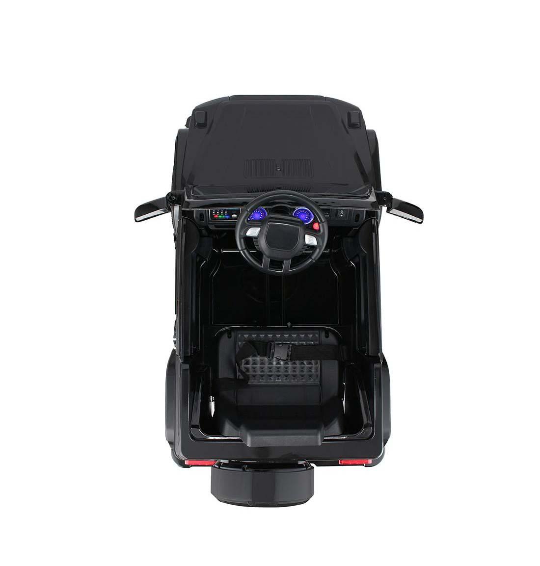 Auto 4X4 A Bateria Negro