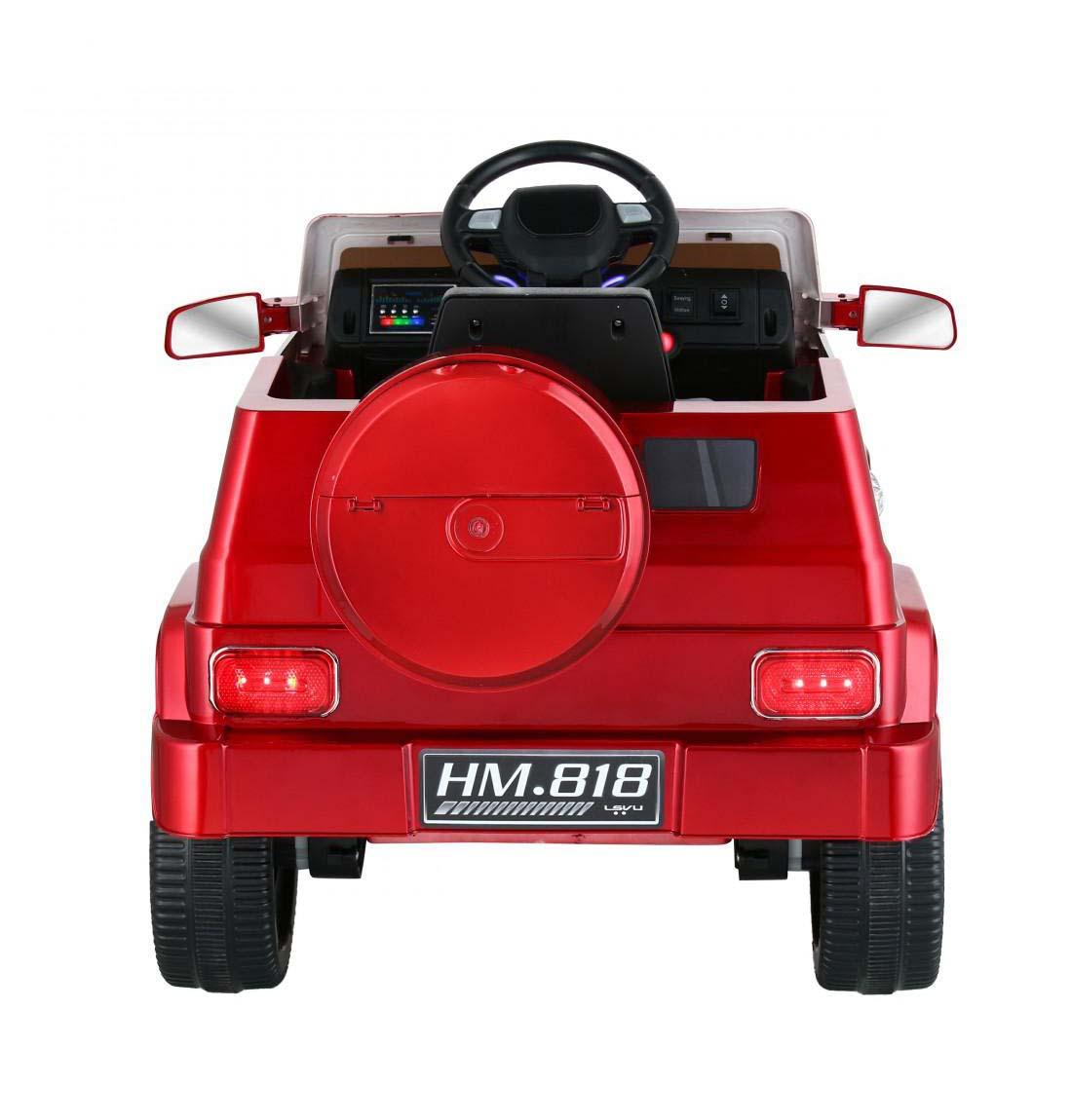 Auto 4X4 A Bateria Rojo