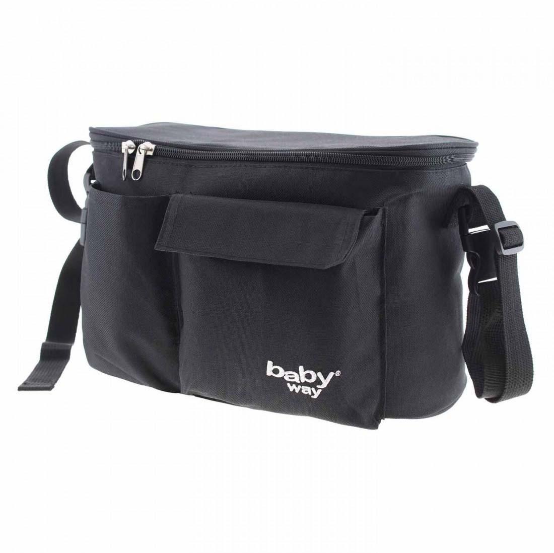 Bolso Maternal Coche Baby Way Bw-Bag25 Negro
