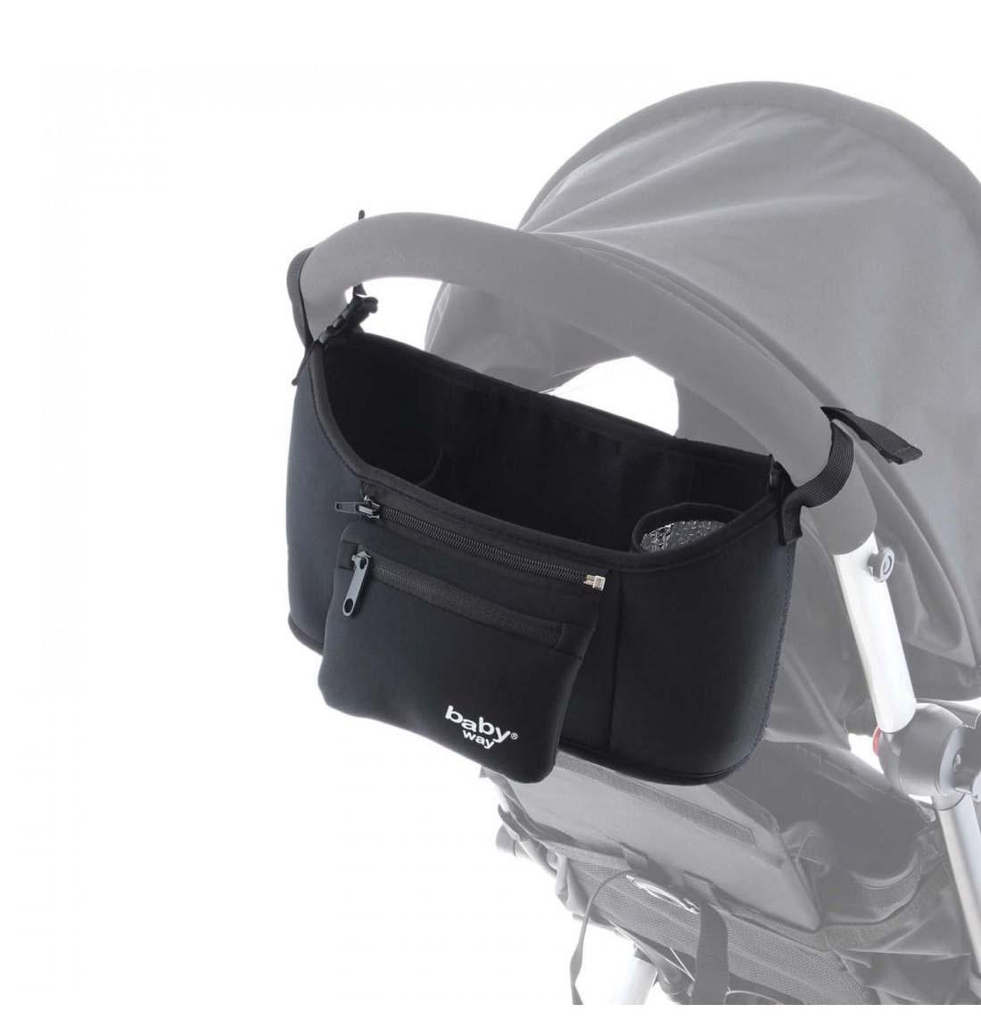 Bolso Maternal Coche Baby Way Bw-Bag26 Negro
