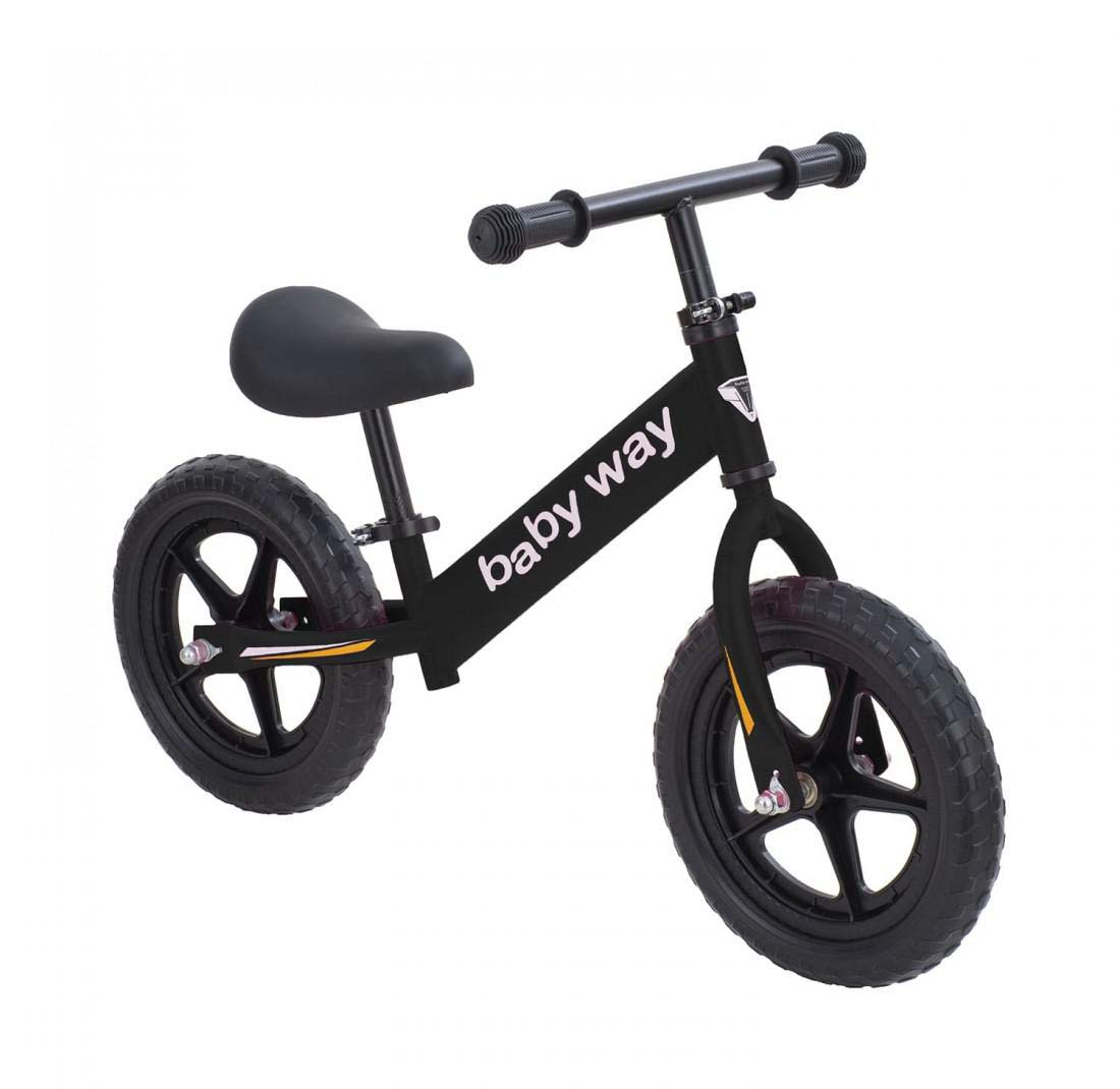 Bicicleta De Equilibrio Negra Baby Way